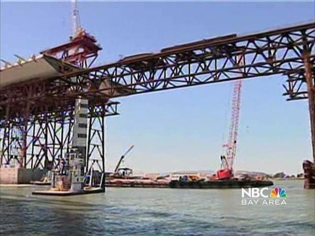 [BAY] Bay Bridge Tower Moves into Place