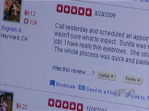 [BAY] Businesses Make Claims Against Yelp