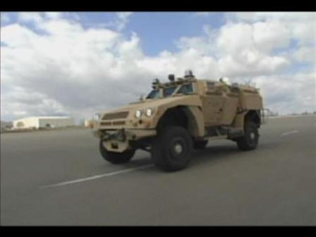 [BAY] Check Out the Hottest Armored Car Around