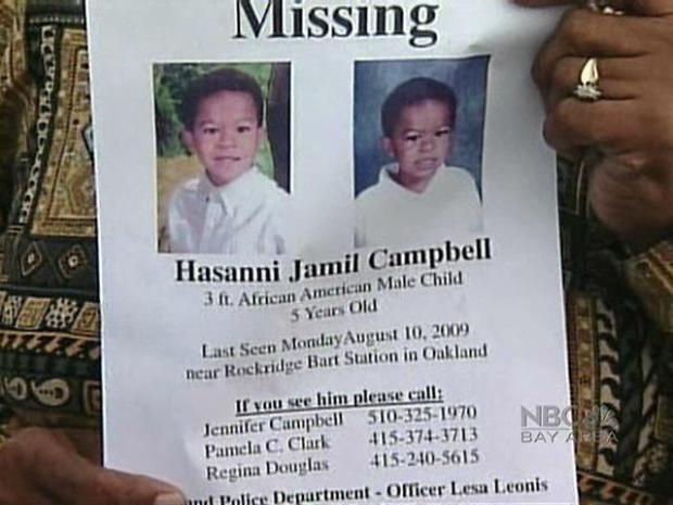 Missing Hasanni Campbell Case in Photos