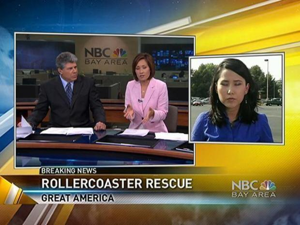 [BAY] Great America Roller Coaster Rescue Took Hours