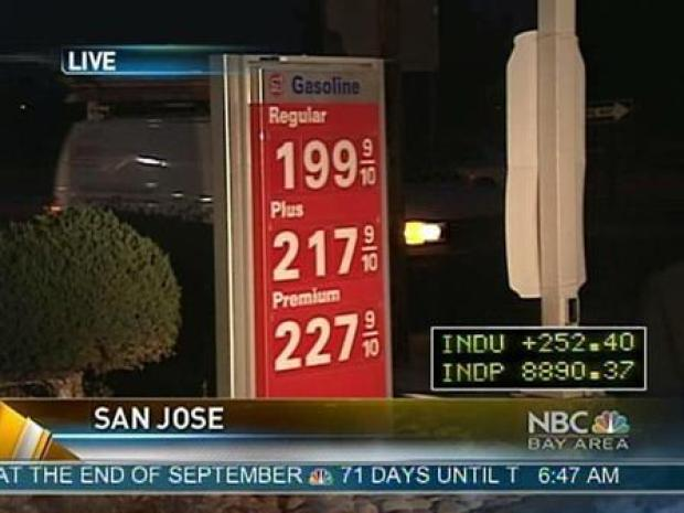 [BAY] Lowest Gas Prices in 4 Years Come to Bay Area
