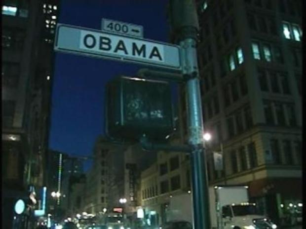 [BAY] Obama Signs Take Over Bush St. in SF