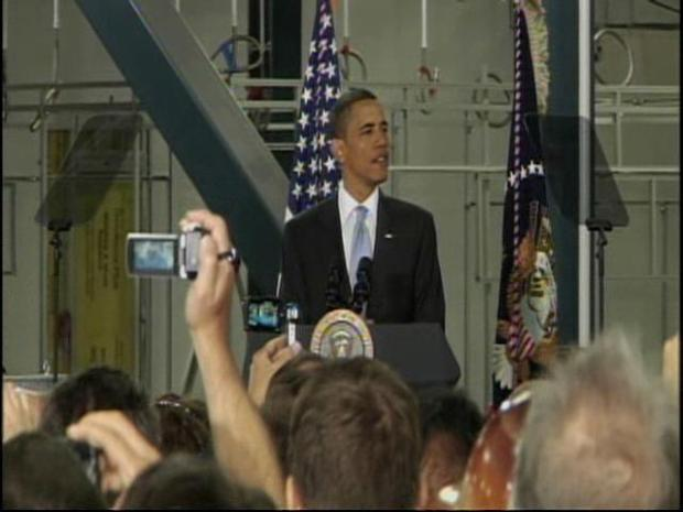 [BAY] Obama Speaks at Solyndra