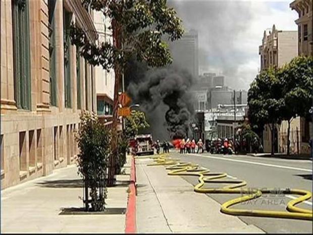 [BAY] PG&E's Underground Equipment Blamed for Explosion