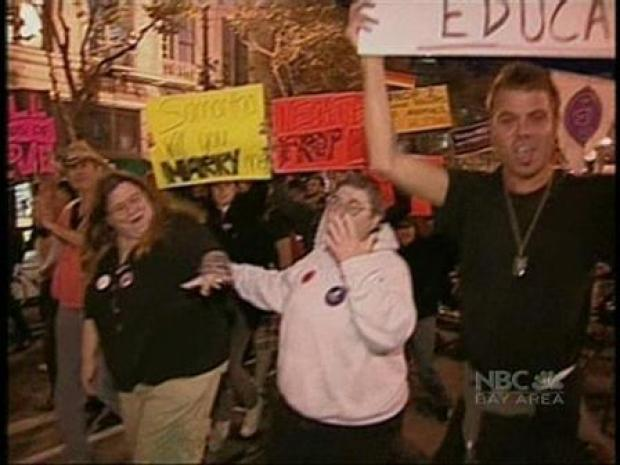 [BAY] Protests Break Out in SF Over Gay Marriage