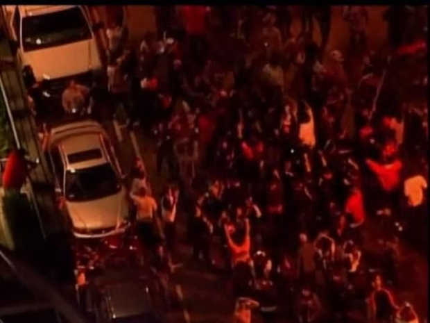 [BAY] Raw Video: AT&T Park Post World Series Victory