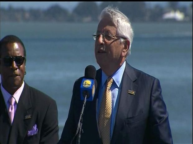 [BAY] Raw Video: David Stern Applauds SF Move