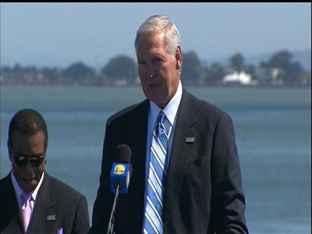 [BAY] Raw Video: Jerry West Remembers Warriors History in SF