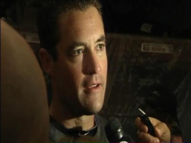 [BAY] Raw Video: Pat Burrell Ready To Have Some Fun