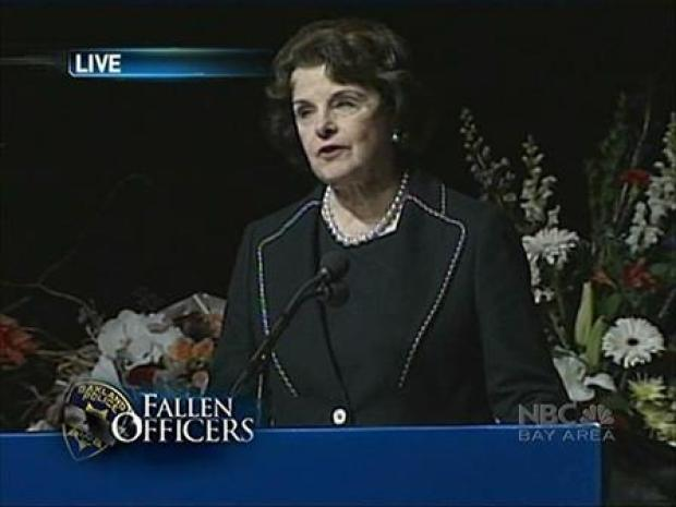 [BAY] Sen. Dianne Feinstein Remembers the Officers
