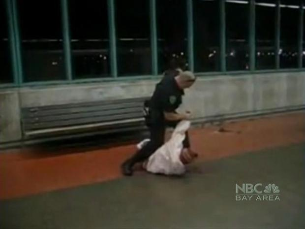 [BAY] Video Shows BART Officer Scuffle With Passenger