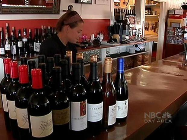[BAY] Wine Lovers: Tip Your Glass to the Bad Economy