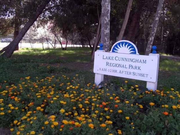 San Jose's Lake Cunningham Park