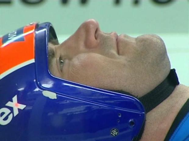 Luge Testing in Wind Tunnel