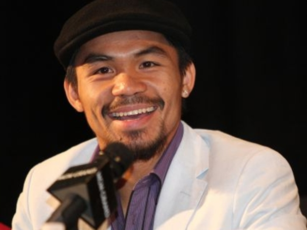 [BAY] VIDEO: Sing me a Song? Pacquiao Serenades Vallejo