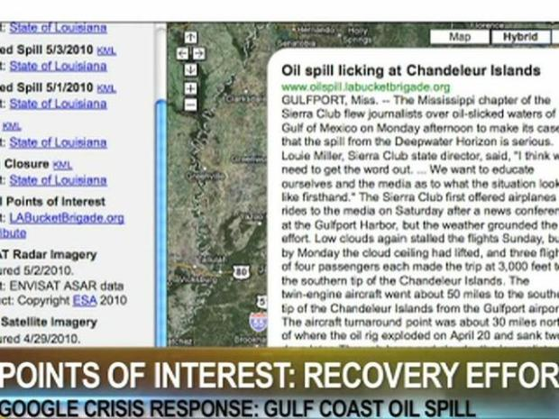 "[BAY] Gulf Oil Spill Gets ""Googled"""