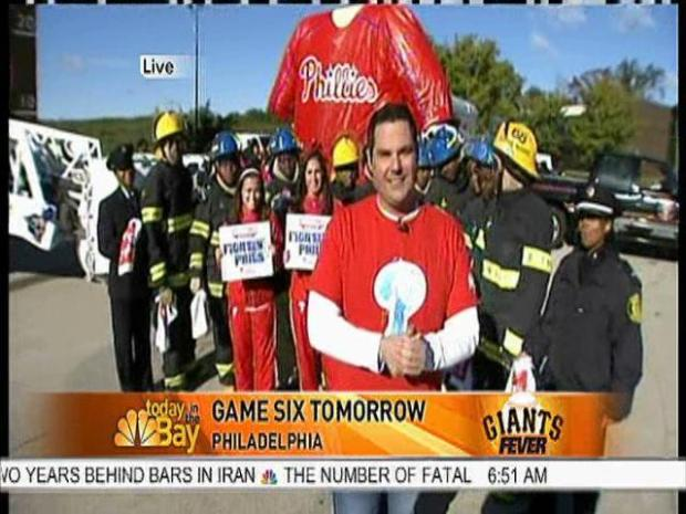 [BAY] NBC Bay Area Morning Crew Takes on Philly Faithful