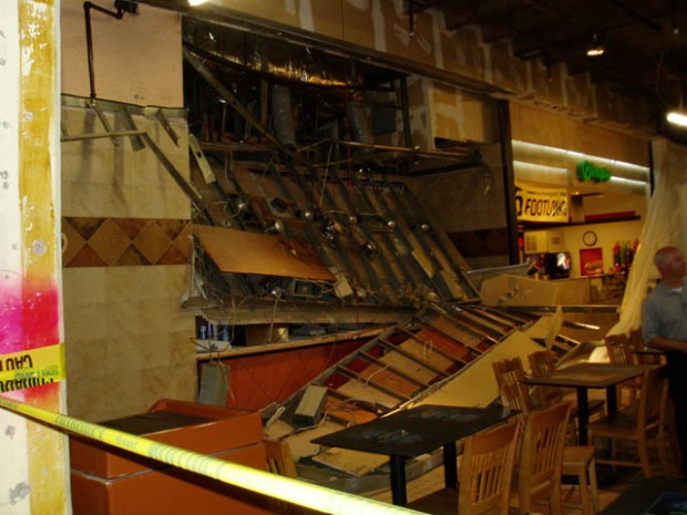 Taco Bell Ceiling Collapses