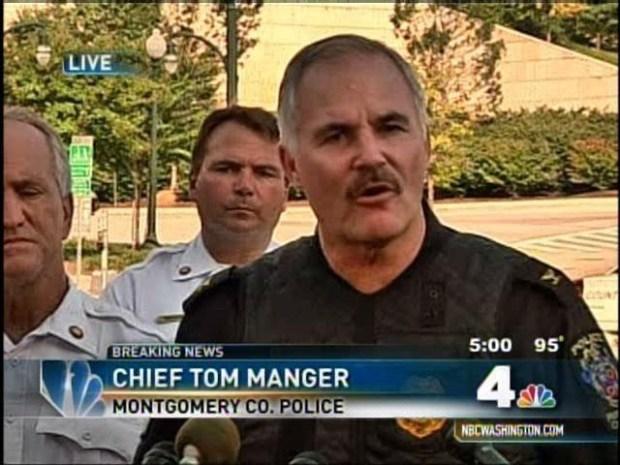[DC] Barricade Suspect Shot: Chief Manger