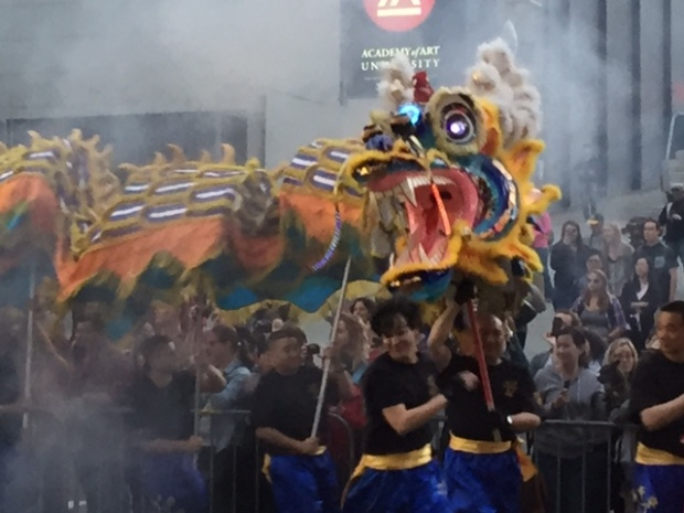 Chinese Lunar New Year Parade in San Francisco's Chinatown