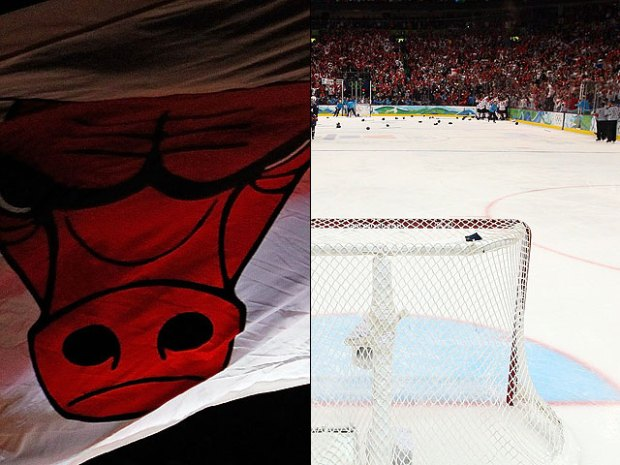 [CHI] Time Lapse: From Bulls' Court to Blackhawks' Ice