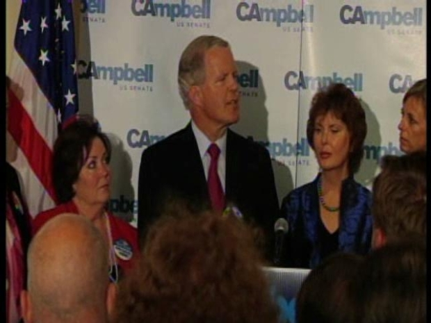 [BAY] RAW VIDEO: Tom Campbell Concedes