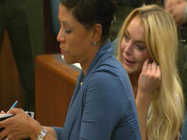 [LA] Raw Video: Lindsay Lohan Sentenced