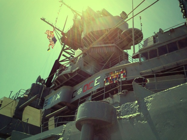 Images of the USS Iowa
