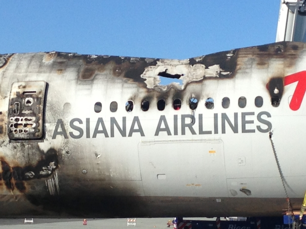Asiana Plane Fuselage Removed From SFO Runway