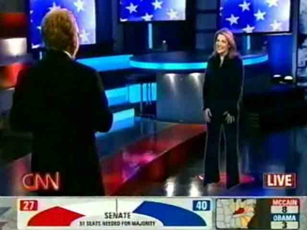 Check Out CNN's Election Night Hologram