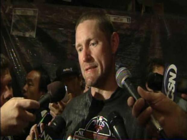 [BAY] Raw Video: Aubrey Huff a Post-Season First-Timer