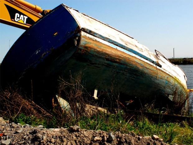 Delta's Graveyard of Ships