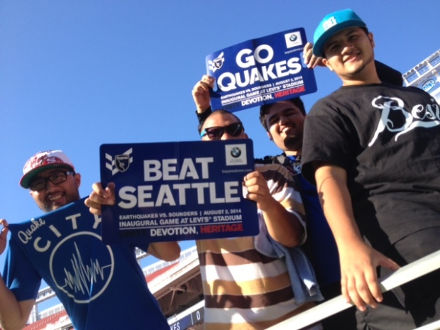 Fans Experience First Game at Levi's Stadium