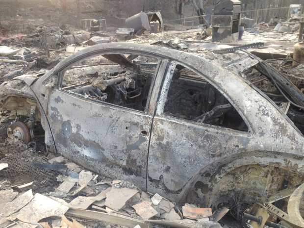[GALLERY] Wildfire Ravages Town of Weed, California