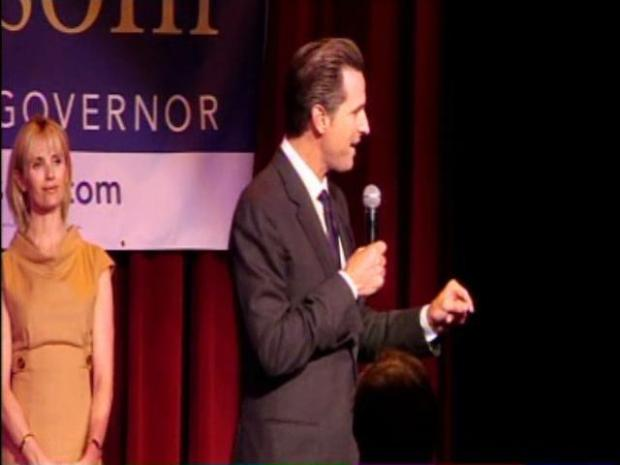 [BAY] Raw Video: Newsom Wins Lt. Gov Nomination