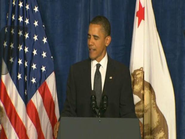 [BAY] RAW VIDEO: Pres. Obama at Boxer Fundraiser