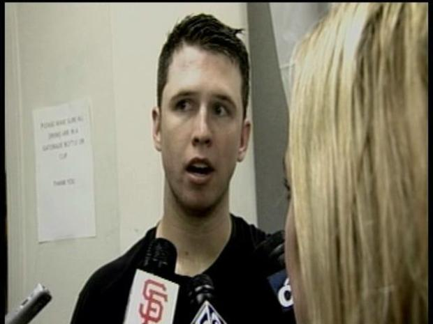 [BAY] Raw Video: Buster Posey