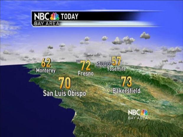 [BAY] Friday & Statewide Getaway Forecast with Rob Mayeda