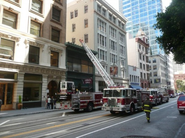 Fire Crews Save City's Oldest Restaurant