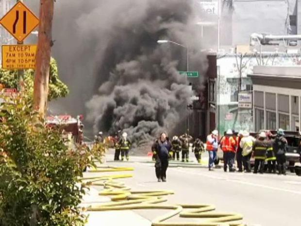 Noxious Fire Spews Flames in Tenderloin