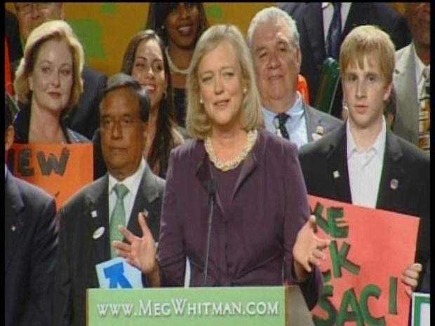 [BAY] RAW VIDEO: Meg Whitman Wins