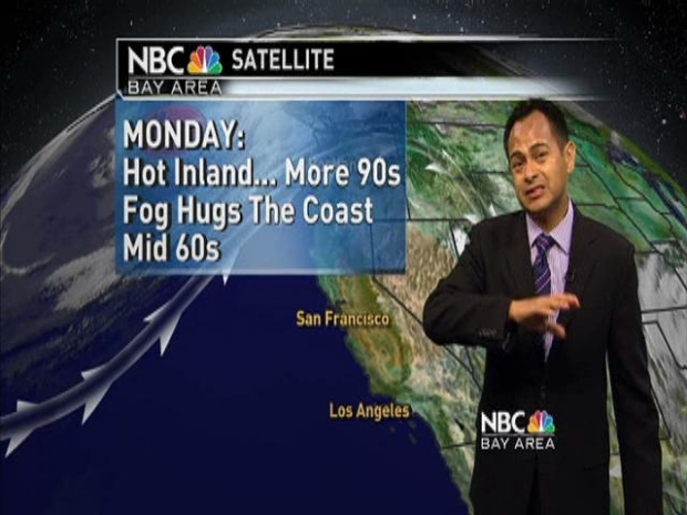 [BAY] Still Hot Inland With Cool Coast