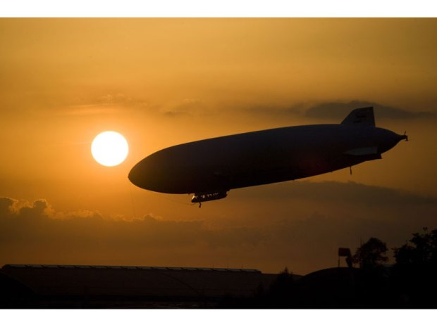 Zeppelin: The World's Largest Airship for $495 an Hour