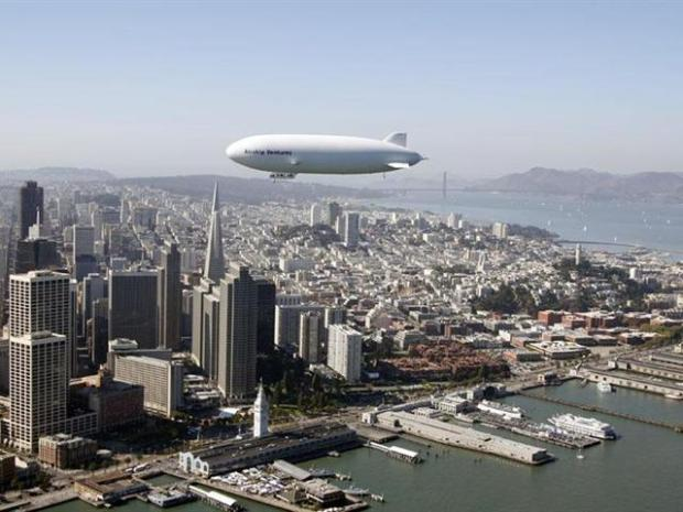 [BAY] Newest Trend in Giants Baseball: A Zeppelin?