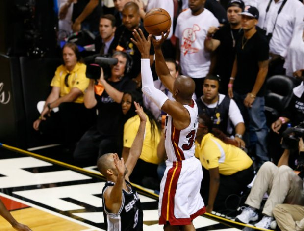 Heat-Spurs Game 6 Photos