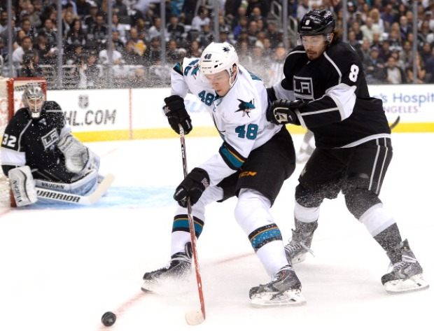 [Photos] Sharks-Kings Face-Off in 1st Round Playoff Series