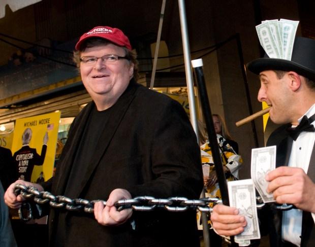 "Michael Moore's ""Capitalism"" Premieres in D.C."