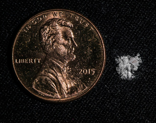 Tiny Amount of Fentanyl Can Be Lethal