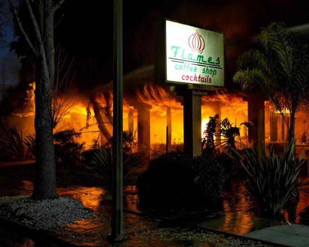 RAW VIDEO: Flames Restaurant in San Jose Destroyed by 4-Alarm Fire